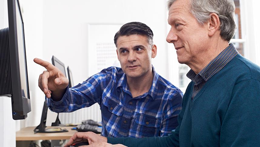 Mjukvarurelaterad IT-support för privatpersoner